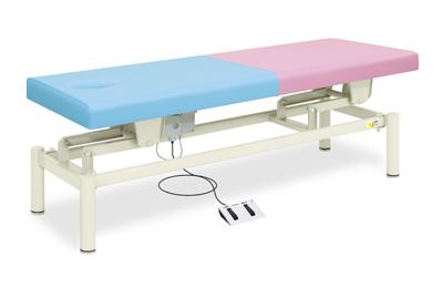 【法人限定販売】高田ベッド 18色のカラーとサイズが選べるマッサージベッド  有孔電動モード TB-423U  病院/クリニック【代引不可】
