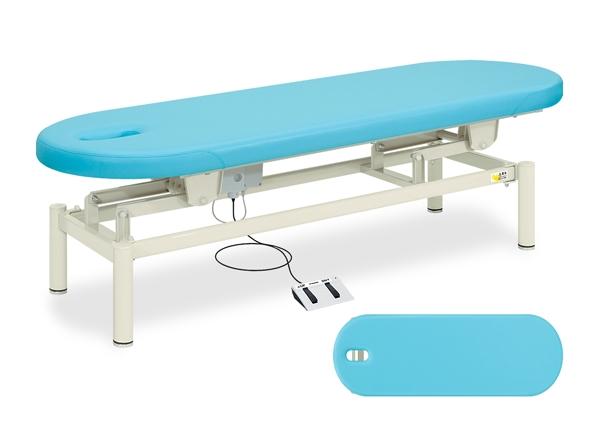 【送料無料/代引き不可】高田ベッド 18色のカラーとサイズが選べるマッサージベッド  有孔電動フィールド TB-195U  病院/クリニック