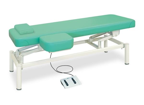 【送料無料/代引き不可】高田ベッド 18色のカラーとサイズが選べるマッサージベッド  上肢台付電動フットワークベッド TB-1101  病院/クリニック