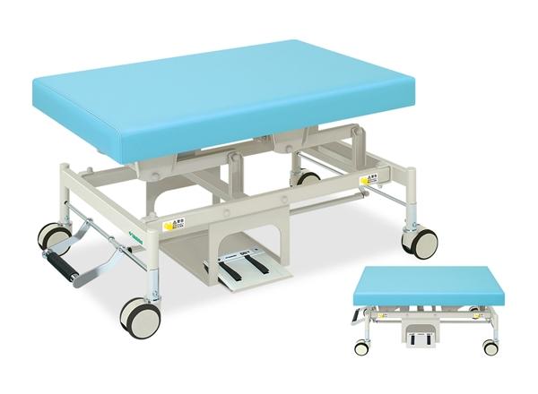 【送料無料/代引き不可】高田ベッド 18色のカラーとサイズが選べるマッサージベッド  電動PTカイザー TB-1061  病院/クリニック