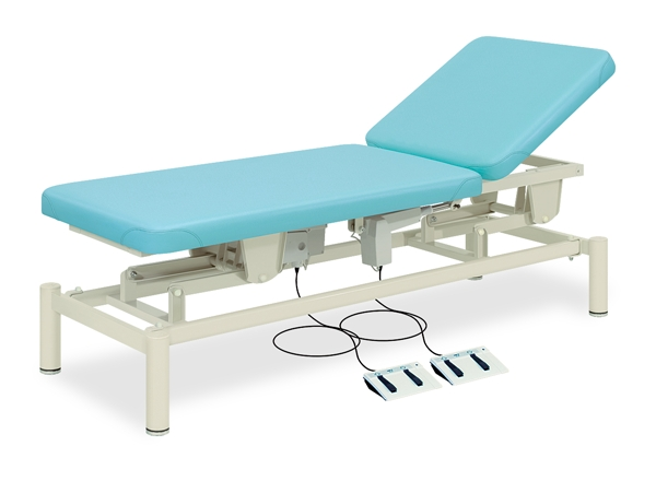 【送料無料/代引き不可】高田ベッド 18色のカラーとサイズが選べるマッサージベッド  2M電動ベッド TB-949  病院/クリニック