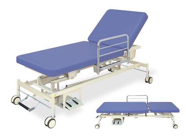 【個人宅配送・代引き不可】高田ベッド 18色のカラーとサイズが選べるマッサージベッド  電動2MFカイザー TB-864  病院/クリニック