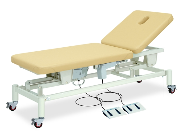 【送料無料/代引き不可】高田ベッド 18色のカラーとサイズが選べるマッサージベッド  有孔すみれ TB-320U  病院/クリニック