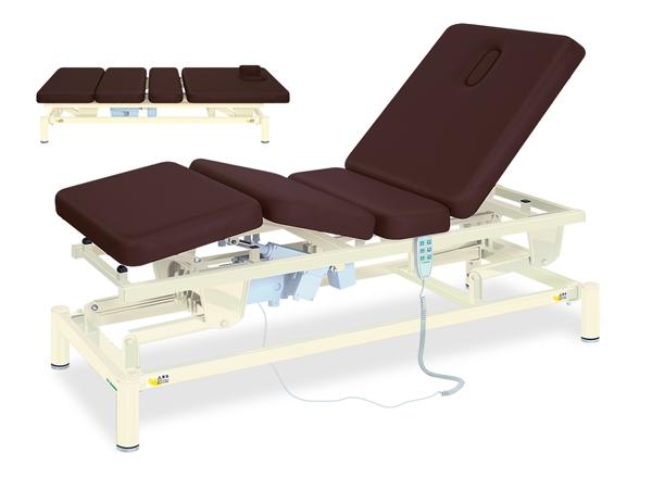 【個人宅配送・代引き不可】高田ベッド 18色のカラーとサイズが選べるマッサージベッド  3M電動アシスト-2 TB-1255  病院/クリニック