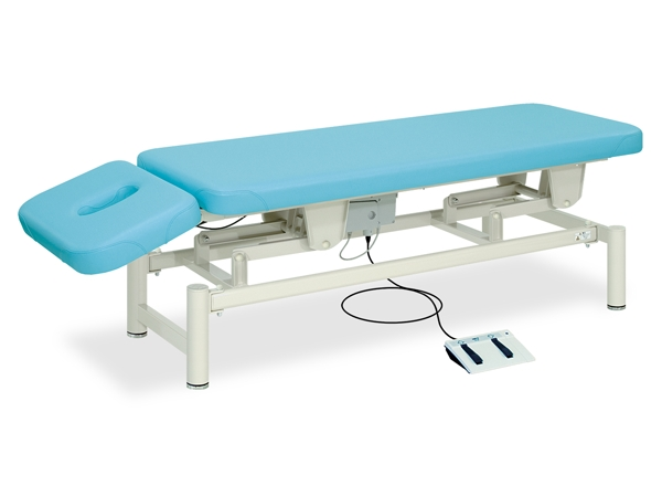 【送料無料/代引き不可】高田ベッド 18色のカラーとサイズが選べるマッサージベッド  あかり-GS TB-594  病院/クリニック