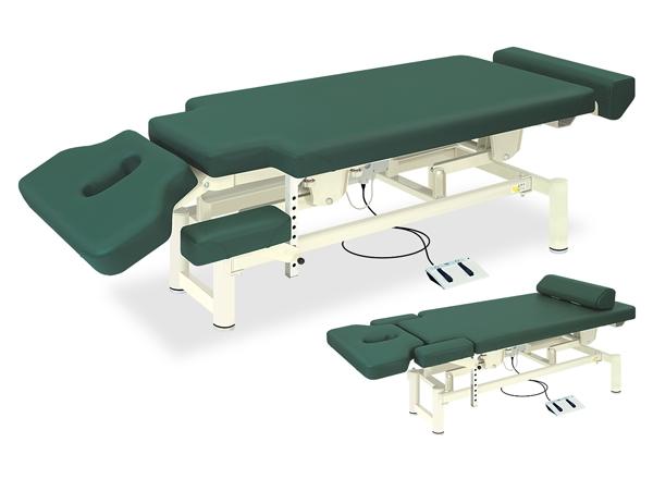 【送料無料/代引き不可】高田ベッド 18色のカラーとサイズが選べるマッサージベッド  Pro-styleシェープ1 TB-580-01  病院/クリニック
