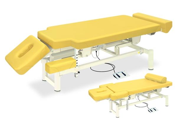 【送料無料/代引き不可】高田ベッド 18色のカラーとサイズが選べるマッサージベッド  Pro-styleシェープ2 TB-580-02  病院/クリニック