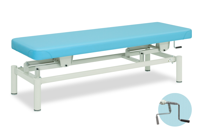 【個人宅配送・代引き不可】高田ベッド 18色のカラーとサイズが選べるマッサージベッド  ナチュラル  TB-914  病院/クリニック
