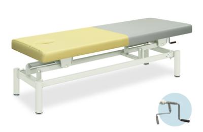 【法人限定販売】高田ベッド 18色のカラーとサイズが選べるマッサージベッド  有孔手動モード  TB-422U  病院/クリニック【代引不可】