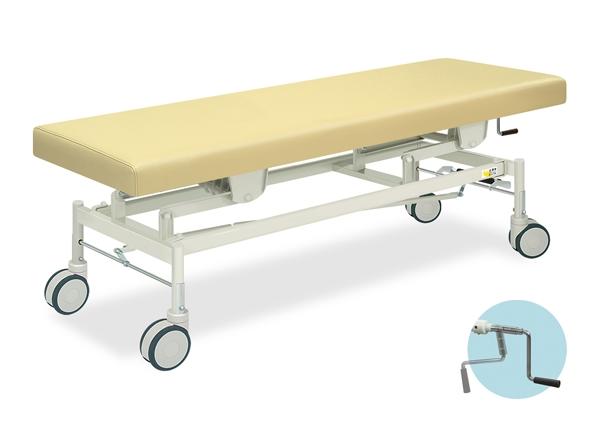 【法人限定販売】高田ベッド 18色のカラーとサイズが選べるマッサージベッド  手動カイザー  TB-428  病院/クリニック【代引不可】