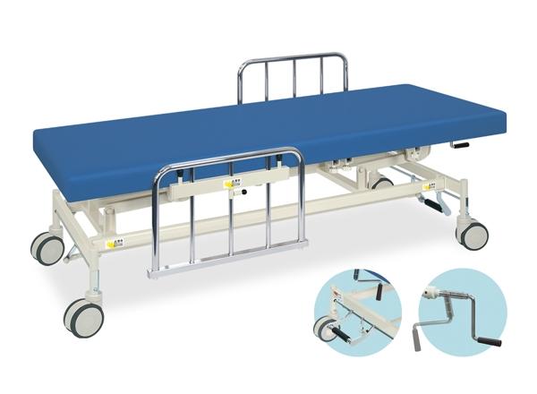 【送料無料/代引き不可】高田ベッド 18色のカラーとサイズが選べるマッサージベッド  手動S型フルカイザー  TB-1232  病院/クリニック