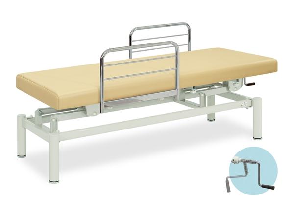 【送料無料/代引き不可】高田ベッド 18色のカラーとサイズが選べるマッサージベッド  102型手動式昇降ベッド  TB-102  病院/クリニック