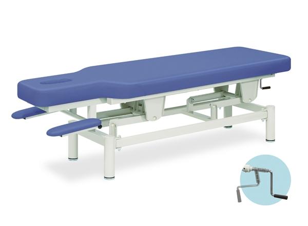 【個人宅配送・代引き不可】高田ベッド 18色のカラーとサイズが選べるマッサージベッド  クランク昇降アプローチベッド  TB-959  病院/クリニック