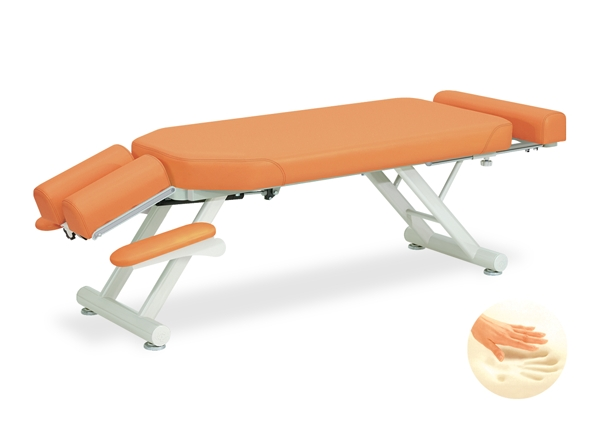 【法人限定販売】高田ベッド 18色のカラーとサイズが選べるマッサージベッド  低反発GSスリム  TB-156  病院/クリニック【代引不可】
