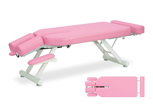 【送料無料/代引き不可】高田ベッド 18色のカラーとサイズが選べるマッサージベッド  スリムミル  TB-142  病院/クリニック