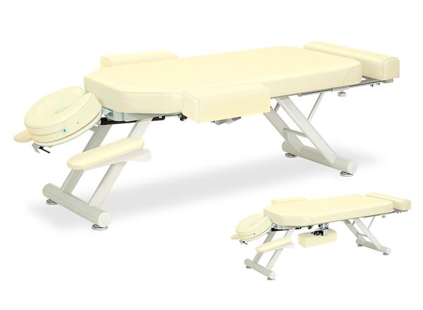 【送料無料/代引き不可】高田ベッド 18色のカラーとサイズが選べるマッサージベッド  スリムウイング-5型  TB-844  病院/クリニック