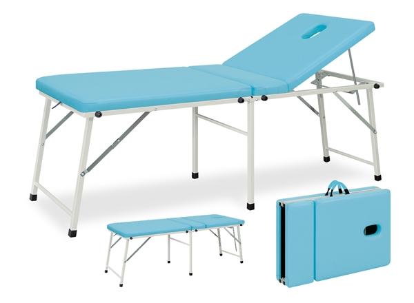 【送料無料/代引き不可】高田ベッド 18色のカラーとサイズが選べるマッサージベッド  有孔コスモスDX  TB-965U 病院/クリニック/ポータブルシリーズ