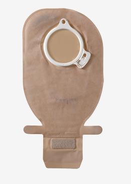 アシュラ2 ロックパウチ EC・C(イージクローズ、両面カバー付) 消化管・尿路ストーマ用 二品系装具 採便袋 開放型/ダブルロック方式カップリング 13984/13985/13986