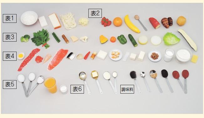 イワイサンプル 腎臓病食 指導用モデル <磁石・無> 1式フルセット/食品サンプル/栄養指導用フードモデル