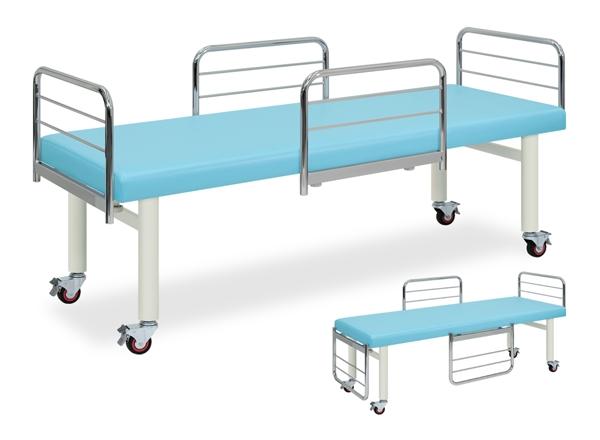 【送料無料/代引き不可】高田ベッド 18色のカラーとサイズが選べるマッサージベッド   ガードキャスタ  TB-173  病院/クリニック/DXベッドシリーズ/診察台