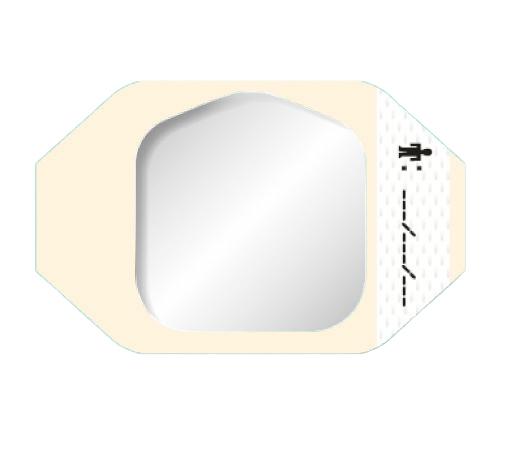 テガダームTMトランスペアレントドレッシング 1624W フレームタイプ サイズ(mm):60×70 1箱(100枚入)