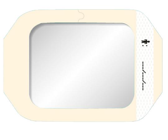 テガダームTMトランスペアレントドレッシング 1626W フレームタイプ サイズ(mm):100×120 1箱(50枚入)