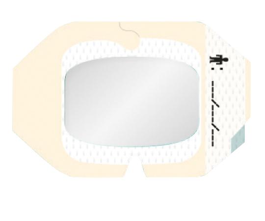 テガダームTMトランスペアレントドレッシング 1614 フレームタイプ・周囲テープ付 サイズ(mm):60×70 1箱(100枚入)