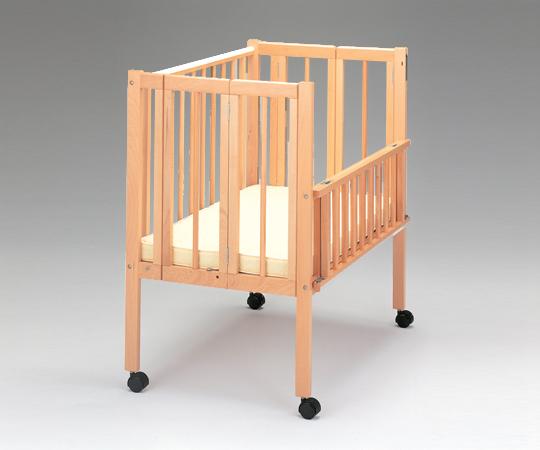 【代引き不可】保育用ベッド(ワンタッチナーサリー)56363 ベッド(マット付き)幅650×長さ1050×高さ1060mm