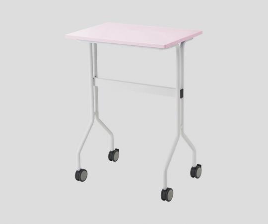 ワークテーブル TT-NS20 ピンク カゴ無し 645×445×900mm