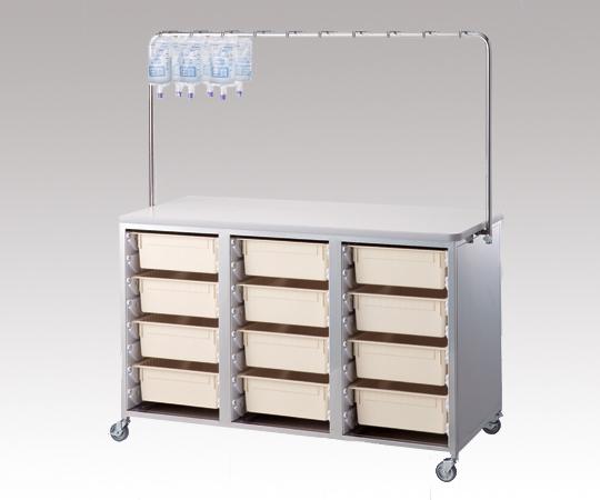 点滴処置台 ランダムライト3 1470×690×1610mm 80kg アルティアトレーを共用できる点滴処置台です