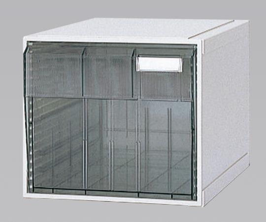 ホスピタルカセッター(A3判) HA3-001 クリアー(透明) 浅型から深型までの引出しが4タイプ