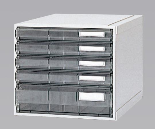 ホスピタルカセッター(A3判) HA3-008 クリアー(透明) 浅型から深型までの引出しが4タイプ