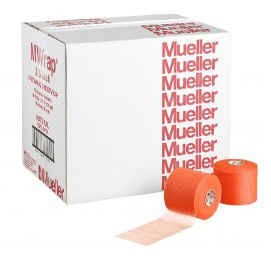 Mueller(ミューラー) Mラップカラー 70mm ビッグオレンジ(48個)