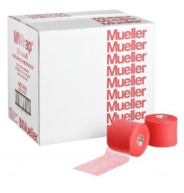 Mueller(ミューラー) Mラップカラー 70mm ビッグレッド(48個)