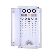 視力検査器 5m(50Hz)用 360×70×805mm