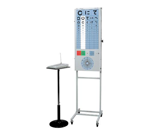 リモコン視力表 M500 表示部/420×95×995mm 16kg