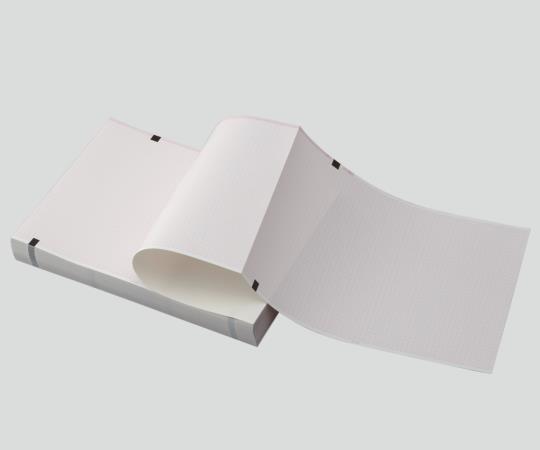 心電図用記録紙(折り畳み型) CP-623U-300 210mm×295mm×300m 1冊入