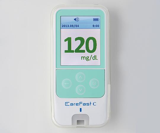 ニプロケアファストC(血糖自己測定器) 11-875 グリーン 45×97×13mm