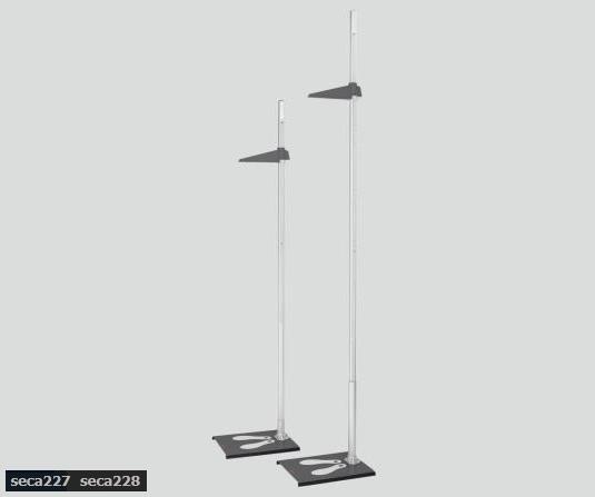 【送料無料/代引不可】身長計 seca227 60~160cm