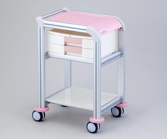 クアトロカート 処置・回診・運搬など、様々な用途にご使用いただけます QT-2 引出し2段付き