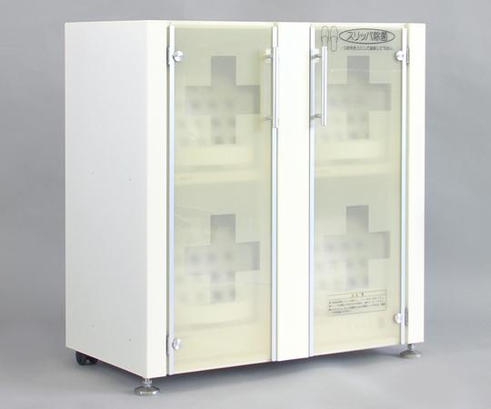スリッパ除菌オートラック 本体・12足ロータイプ D1-V2-3 スリッパ殺菌
