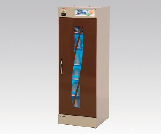 スリッパ殺菌ロッカー(光触媒方式) KE-SLM006H(ブラウン) スリッパ殺菌保管庫 脱臭