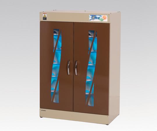 スリッパ殺菌ロッカー(光触媒方式) KE-SLM0012H(ブラウン) スリッパ殺菌保管庫 脱臭