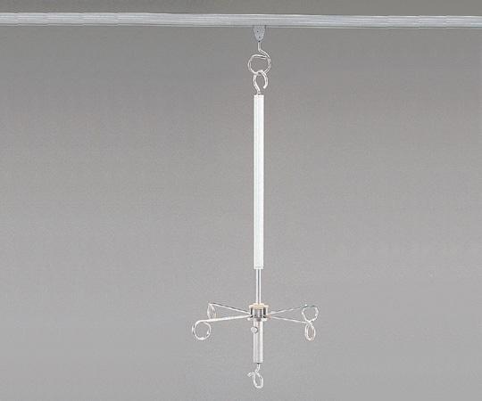 スライドハンガー ボタン式ロング 全長(mm):865~1315
