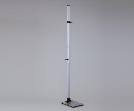 【送料無料/代引不可】金属身長計 シルバーワイド YS102-S 幼児用1.5m 測定範囲600mm~1500mm