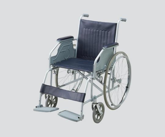 NAVIS(ナビス)車椅子 (スチール製) 自走式 NWC-10S 600×1020×860mm 16.2kg お求めやすい、ノーパンク仕様のスタンダードタイプ 【代引き不可】