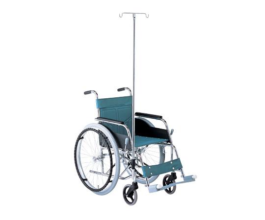 車椅子(スチール製) ATY-1S 自走式 ガードル棒付き スリムで軽量化を実現