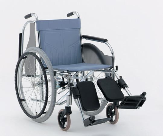 肘跳ね上げ多機能車椅子 (スチール製) CM-220 #36(エアータイヤ) 自走式 625×1040×875mm