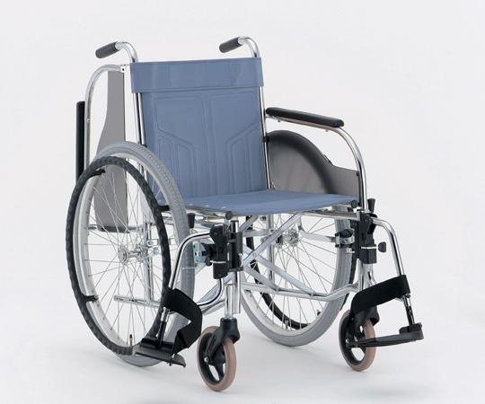 肘跳ね上げ多機能車椅子 (スチール製) CM-250 #36(ハイポリマータイヤ) 自走式 625×1040×875mm