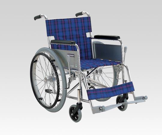 車椅子 (アルミ製) KA202-42 A3 自走式 610×1000×850mm